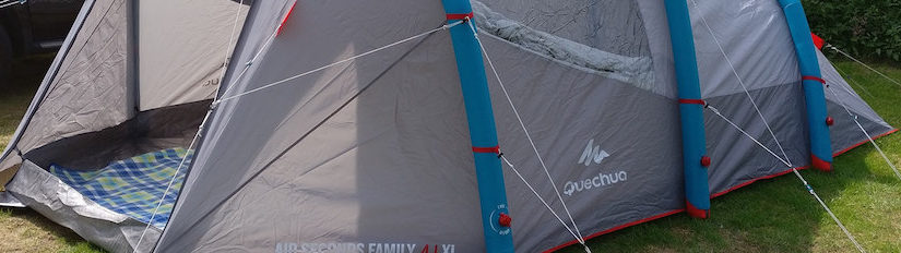 Testbericht: Quechua Air Seconds Family 4.1 XL Zelt